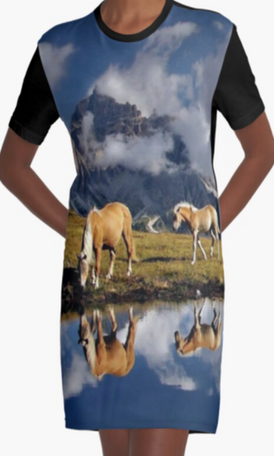Cowgirl Kim The Palomino's Graphic Tee Dress