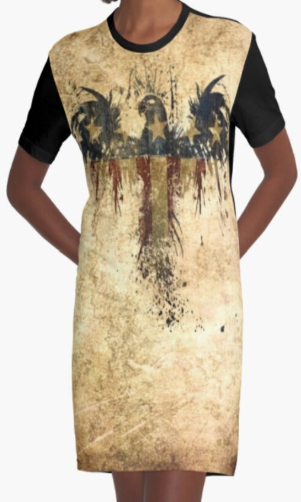 Cowgirl Kim Independence Graphic Tee Dress