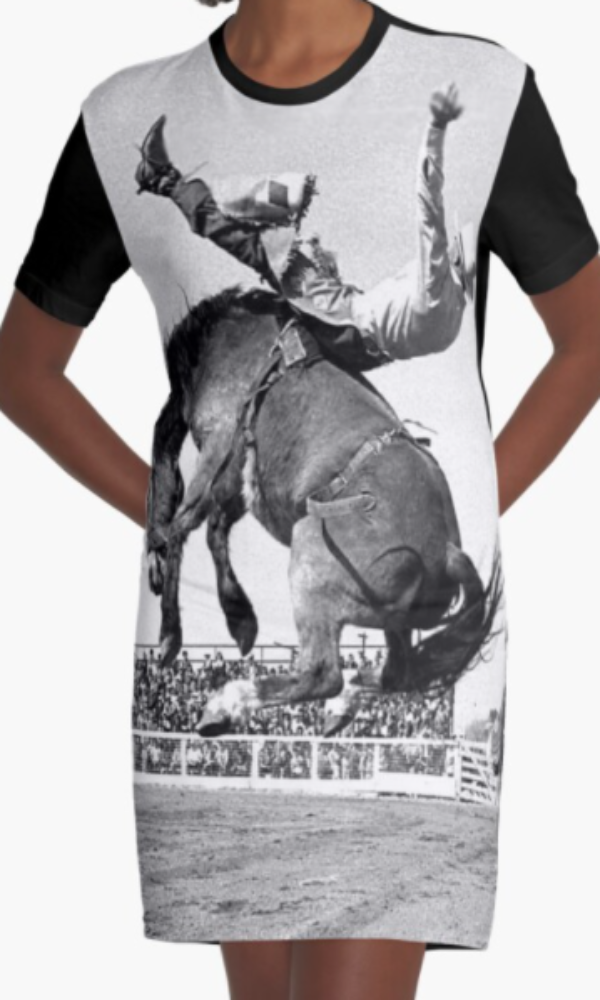Cowgirl Kim Let'er Buck Boys Tee Dress