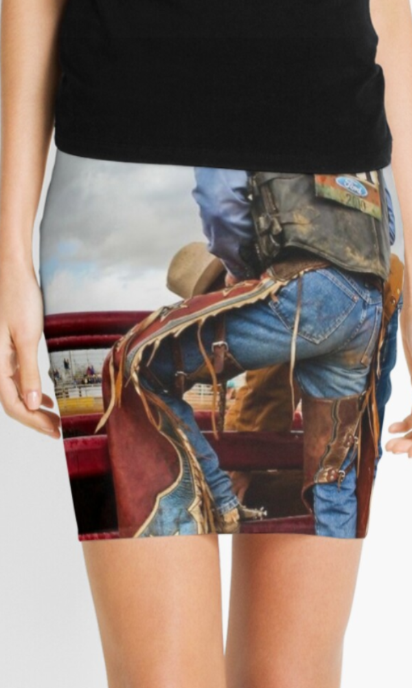"Cowgirl Kim ""Anticipation"" Mini Skirt"