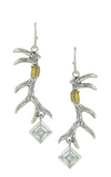 Sterling Lane Pursue the Wild Nature's Art Earrings - In Stock