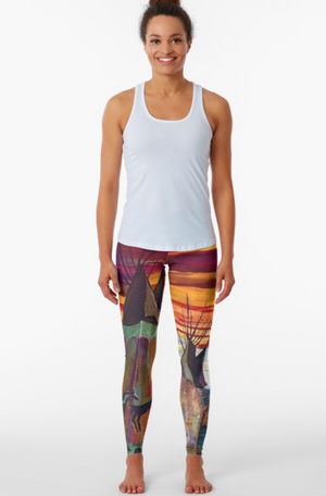 Cowgirl Kim Teepee Leggings