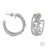Sterling Lane Pursue the Wild Embracing the Wild Hoop Earrings - In Stock