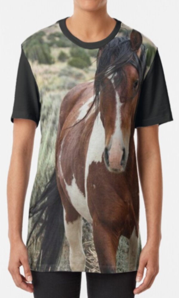 Cowgirl Kim Wild Stallion Graphic Tee