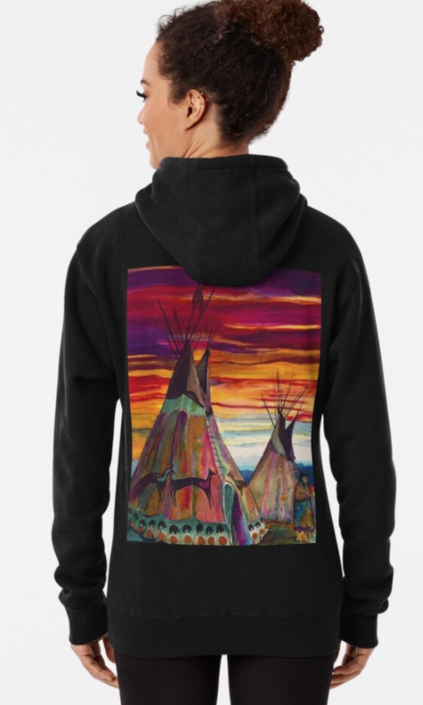 Cowgirl Kim The Teepee's Pullover Hoodie