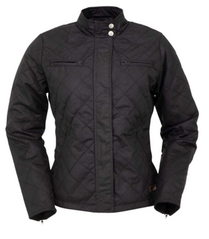 Outback Trading Co. Women's Stormy Oilskin Jacket - Black - Pre Order
