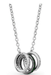 Montana Silversmith Mini Three Ring Necklace - In Stock