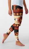 Cowgirl Kim Buffalo Canyon Leggings - Ships in 2 weeks