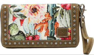 Ariat Cacti Cruiser Clutch/Wallet