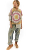 Sorrelli Necklace w Antique Silver and Clear Crystals