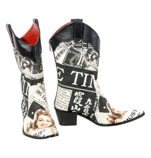 Rockwell Tharp NY Times Cowboy Boots - Cowgirl Kim
