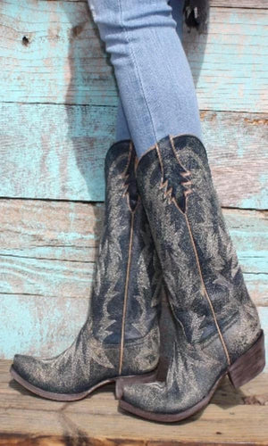 Old Gringo Moreen Blue Boots - Cowgirl Kim