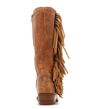 Liberty Black Olympia Boot in Mossil Tan - Cowgirl Kim