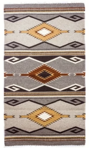 Mendez Southwestern Wool Large Area Rug ~Apache - Cowgirl Kim