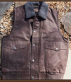 Madison Creek Outfitters Men's Teton Reversible Vest~ Dark Brown/Charcoal Sherpa - Cowgirl Kim