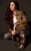 Wild Instincts Great Plains Jacket~ Distressed Brown