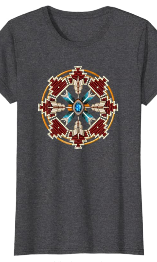 Cowgirl Kim Native Mandala Tee