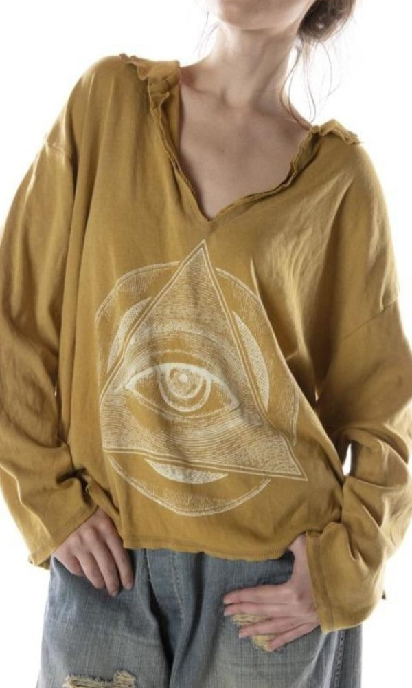 Magnolia Pearl Top 741 Eye of Eternity Tory Pullover - Marigold