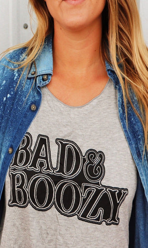Cowgirl Kim Bad & Boozy Tank Small