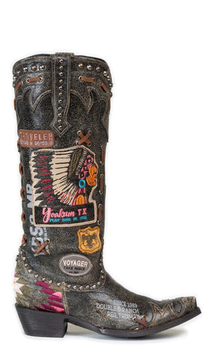 Double D By Old Gringo Escalante Boot~ Black - Cowgirl Kim