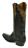 Black Jack Ranch Hand Chocolate Shadow Boot - Cowgirl Kim