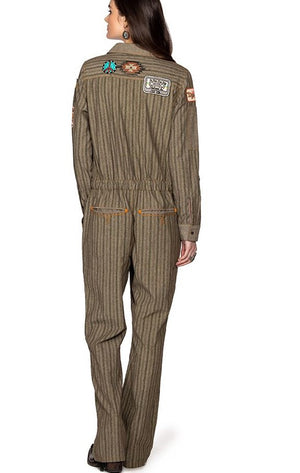 Double D Ranch Private Fimbel Jumpsuit- Gully