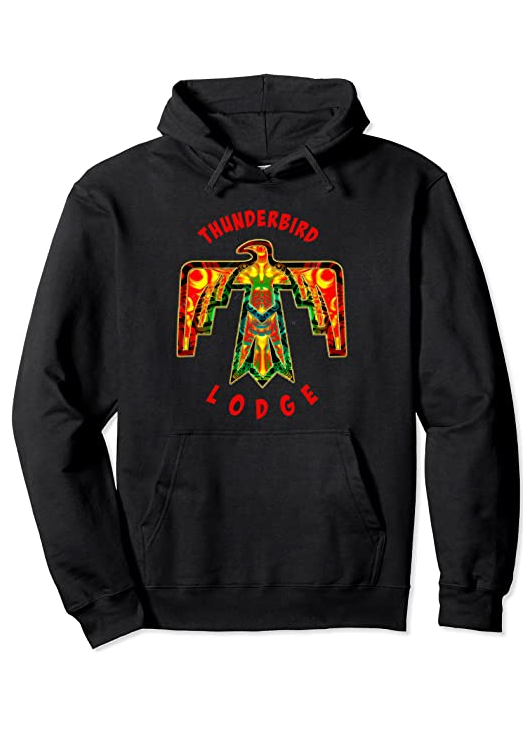 Cowgirl Kim Thunderbird Lodge Hoodie Pullover