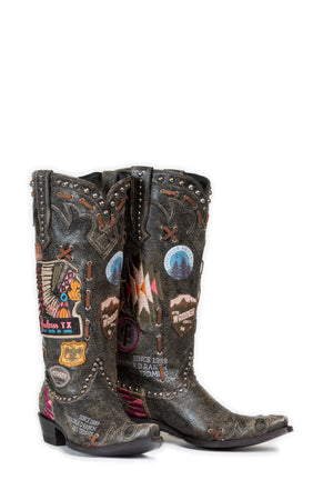 Double D By Old Gringo Escalante Boot~ Black