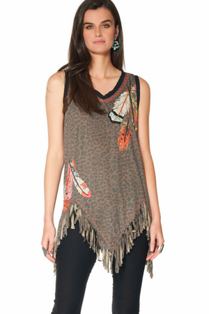 Double D Ranch Three Feathers Tank