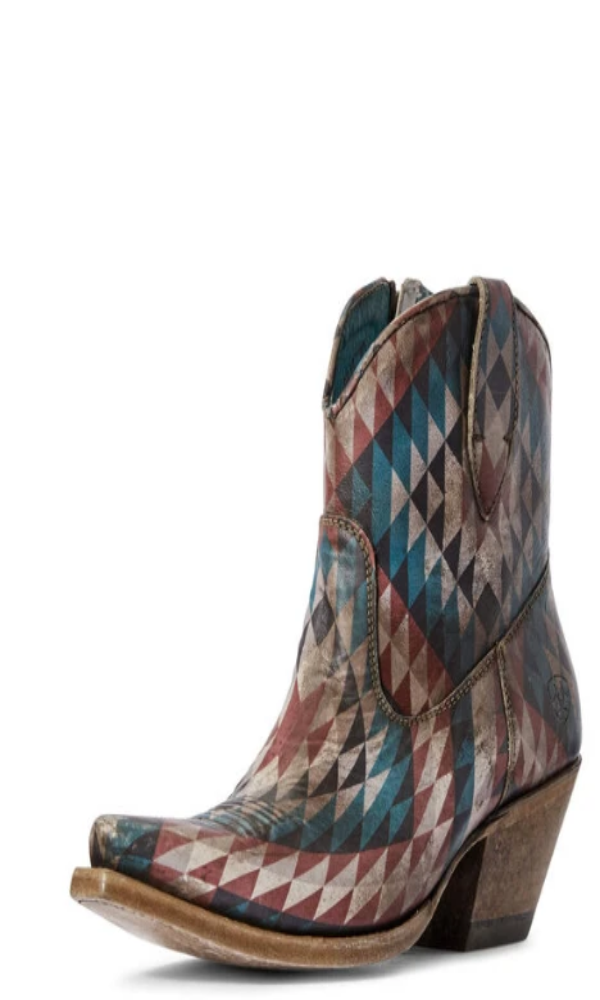 Ariat Circuit Cruz Western Boot- Eye Dazzler Aztec - Style 10031476 - Cowgirl Kim