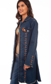Honey Creek by Scully Long Denim Jacket