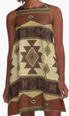Cowgirl Kim Down Mexico Way A-Line Dress - Large Only