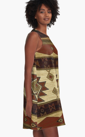 Cowgirl Kim Down Mexico Way A-Line Dress