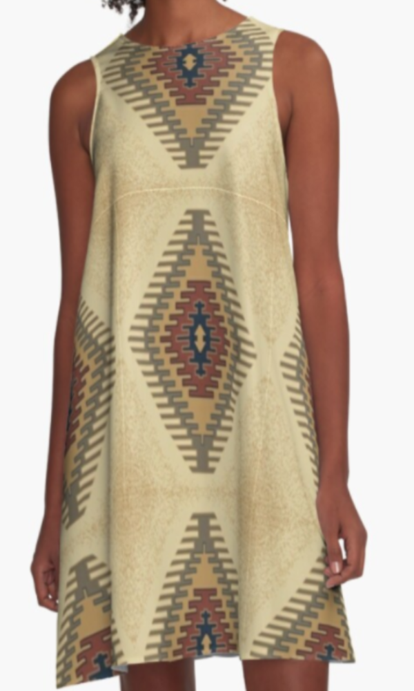 Cowgirl Kim Welcome to Taos A-Line Dress - In Stock