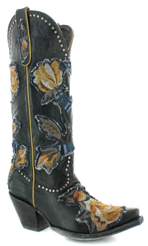 Old Gringo Carla Boot~ Black - Cowgirl Kim
