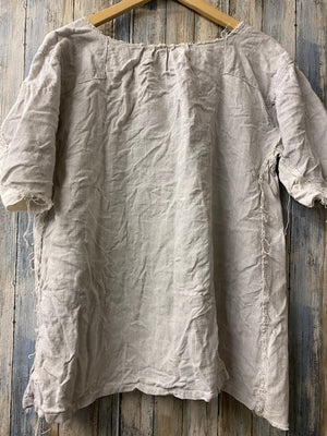 Magnolia Pearl Specialty Top 153 Linen Top - One of a Kind