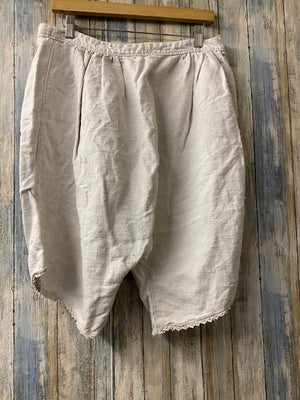 Magnolia Pearl Specialty Bloomers 031- French Linen Bloomers - One of a Kind