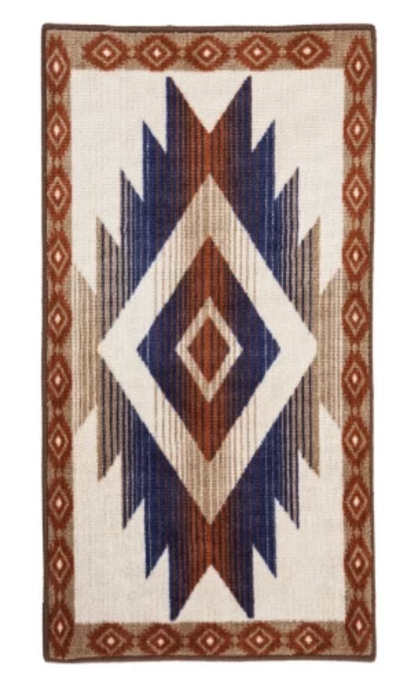 Cowgirl Kim Striking Aztec Inspired Rug - Cowgirl Kim