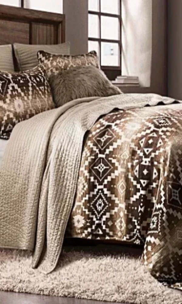 Cowgirl Kim Chalet Aztec Comforter Set - Cowgirl Kim