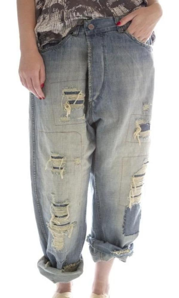 Magnolia Pearl Pants 152 Cotton Miner Denims
