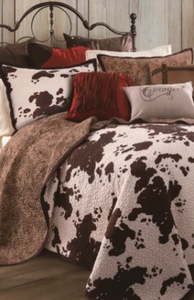 Cowgirl Kim Star Bed Sheets~ Chocolate
