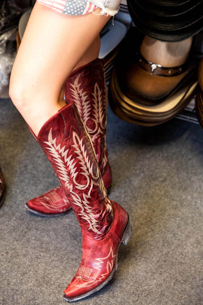 Old Gringo Mayra Bis Boots Relaxed Fit~ Red