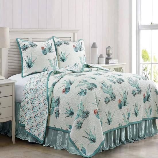Cowgirl Kim Sadie Reversible Quilt Set - Cowgirl Kim