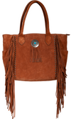 Scully Leather Top Handle Tote