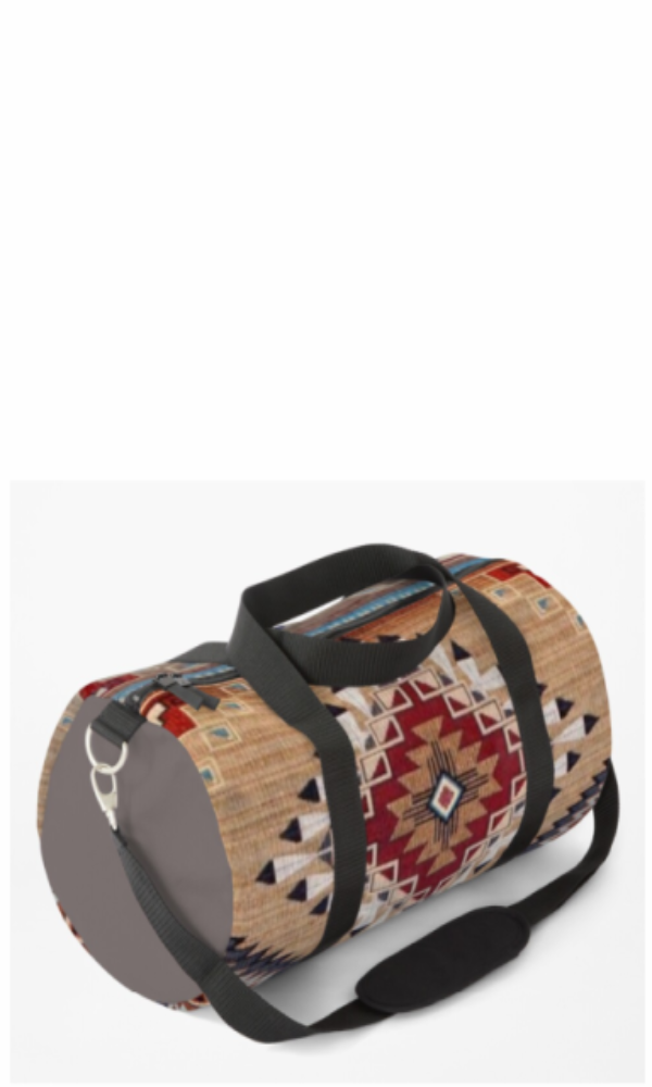 Cowgirl Kim Bison Ridge Duffle Bag