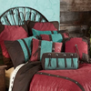 Cowgirl Kim Cheyenne Red Faux Leather Comforter Set - Cowgirl Kim