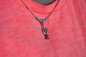 Sunwest Jewelry~ Small Cactus Necklace