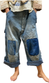 Magnolia Pearl Specialty Pants 078 Farm Trousers - One of a Kind