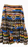 Vintage Collection Rainbow Saltillo Short Skirt