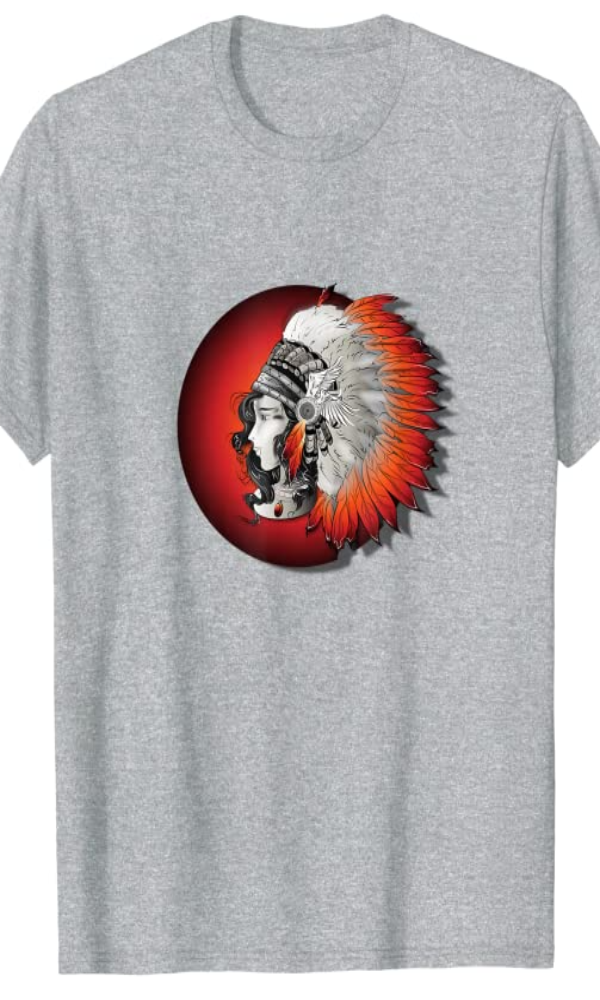Cowgirl Kim Red Indian Princess Tee